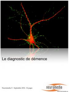 publi diagnostic demence